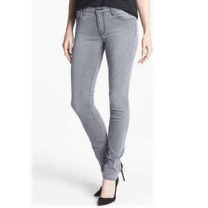 J Brand - Photo Ready Mid-rise Grey Skinny Jeans